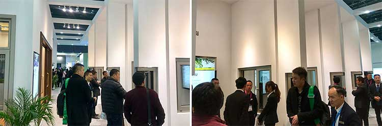 轩尼斯门窗上海建博会