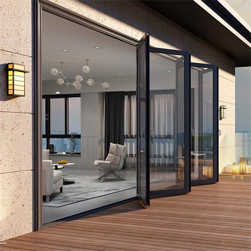 铝合金门窗之平开门的优缺点